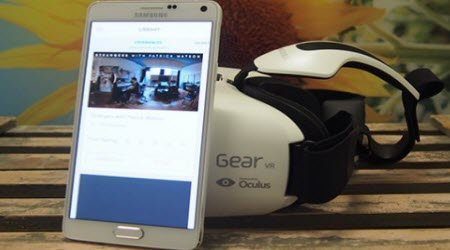 watch 3d blu-ray on note 4 with gear vr