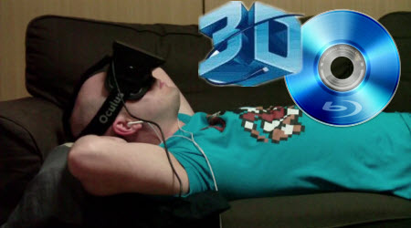 Put 3D Blu-ray to Oculus Rift