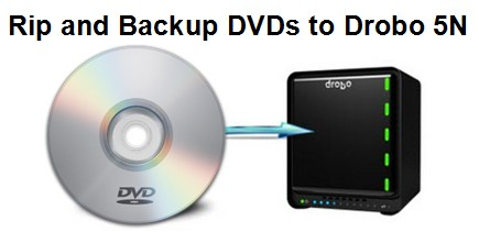 Backup 150+ DVDs on DROBO 5N