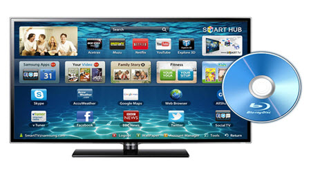 Copy Blu-ray to Play on Samsung UHD TV via HDD and Flash