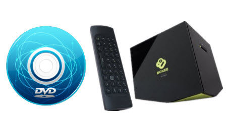 Watch DVD movies on Boxee Box