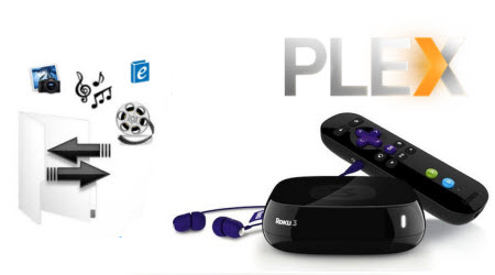 Play video on Roku with Plex