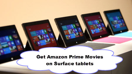 so in order to play amazon instant videos on surface pro 3pro 4 tablet or other windows devices you must remove drm protection and convert amazon instant
