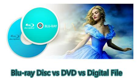 Reviews of DVD vs Blu-ray vs Digital File Comparison for