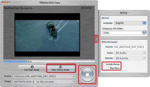 4Media DVD Copy for Mac