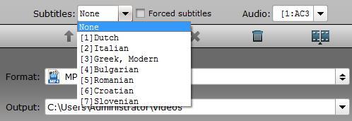 Remove subtitle from MKV files